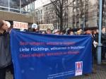Antirassistische Demo in Mannheim. 13.12.14